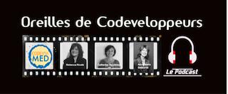 L'équipe au service de la communauté de codéveloppeurs : Rebecca Ricchi, Anne Marie Seimandi, Catherine Boudewyn